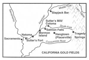 California Gold Fields - Mormon Island