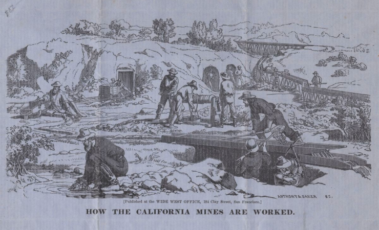 How The California Mines Are Worked
