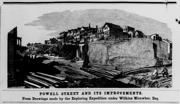 Powell Street and Its improvements