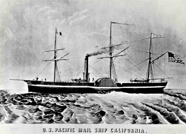 Steamer California 1848