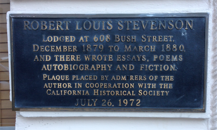RLS Plaque - Bush and Stockton