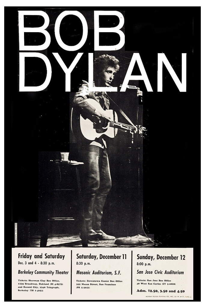 dylan bay area 1965
