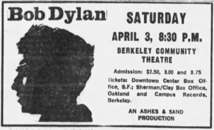 SF Examiner, March 21, 1965